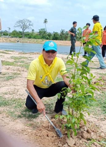 """""""เราทำความ ดี ด้วยหัวใจ"""" ร่วมโครงการปลูกต้นไม้สร้างสิ่งแวดล้อม"""