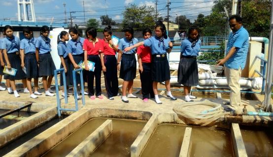 กปภ.สาขาพังลา เปิดบ้านต้อนรับนักเรียน ร.ร.กอบกุลวิทยาคม ศึกษากระบวนการผลิตน้ำประปา