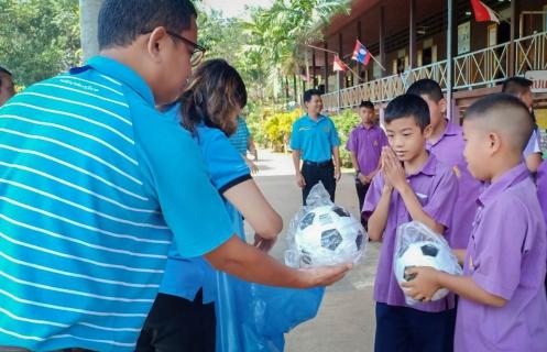 กปภ. สาขาตราดจัดกิจกรรม CSR มอบอุปกรณ์กีฬาให้กับโรงเรียนวัดคลองขุด ต.ห้วยแล้ง อ.เมืองตราด จ.ตราด