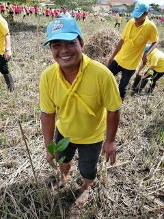 กปภ.สาขาระนอง ร่วมกิจกรรมปลูกป่าชายเลน โครงการผืนป่าอาเซียน ประจำปี 2562