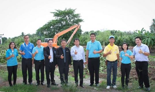 """กปภ.สาขาราชบุรี และ กปภ.ข.3 ร่วมจัดโครงการ """"กปภ.รักษ์ชุมชน กิจกรรมคลองสวยน้ำใส ขุดลอกแหล่งน้ำกำจัดวัชพืชชุมชน"""""""