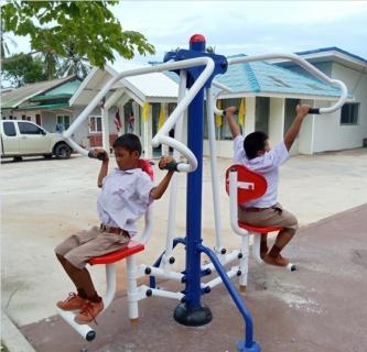 กปภ.สาขาเกาะสมุย ส่งมอบงานโครงการ กปภ.รักษ์ชุมชน ปี 2562