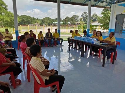 กปภ.สาขาเลิงนกทาจัดกิจกรรมส่งมอบศาลาประชาคมบ้านซ่งแย้ในโครงการ กปภ.รักษ์ชุมชน ปี 2562