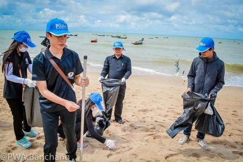 สาขาบ้านฉาง ร่วมพิทักษ์ชายหาดพยูน...ในวันสิ่งแวดล้อมโลก ๖๐ อ่านต่อที่: http://www.pwa.co.th/news/view/57877