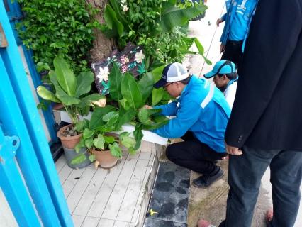 กปภ.สาขาธัญบุรี ออกหน่วยโครงการ กปภ.สาขาดูแลประปาเพื่อปวงชน