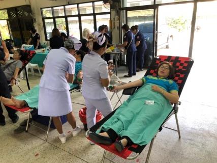 กปภ.สาขาท่ามะกา เข้าร่วมบริจาคโลหิตแก่ โรงพยาบาลพหลพลพยุหเสนา