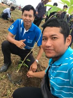 ประปาส่วนภูมิภาคสาขาปราณบุรี เข้าร่วมโครงการอนุรักษ์และพัฒนา แม่น้ำ คู คลอง ปลูกต้นไม้รอบอ่าง ณ อ่างเก็บน้ำหนองจิก อำเภอชะอำ จังหวัดเพชรบุรี