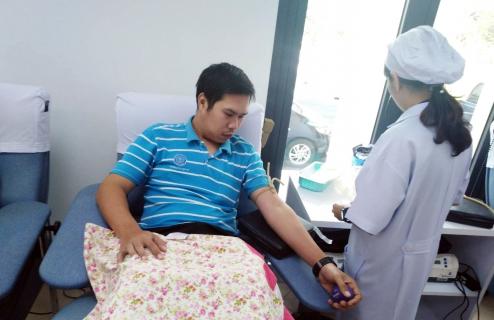 """กปภ.ข.10 ร่วมเป็น""""ผู้ให้""""ที่ยิ่งใหญ่ บริจาคเลือดแก่ภาคบริการโลหิตแห่งชาติที่ 8 จ.นครสวรรค์ เพื่อช่วยเหลือชีวิตเพื่อนมนุษย์"""