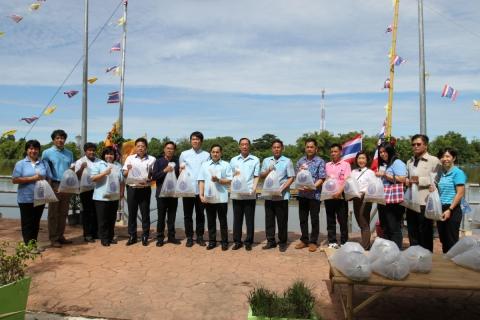"""กปภ.ข.3 ใส่ใจทรัพยากรน้ำ ร่วมโครงการ """"วันอนุรักษ์และพัฒนาแม่น้ำ คู คลอง แห่งชาติ ประจำปี 2561"""