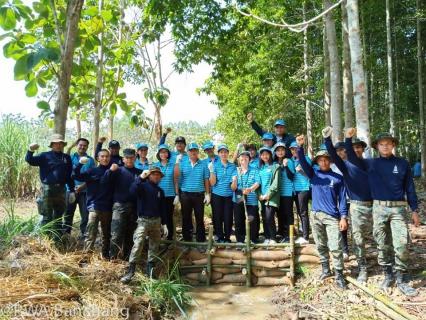 กปภ. สาขาบ้านฉาง ร่วมสร้างฝายธรรมชาติ อนุรักษ์ป่าชุมชน ภูดร-ห้วยมะหาด