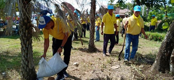 กปภ.สาขายโสธรร่วมกิจกรรม จิตอาสาพัฒนา ปลูกและบำรุงรักษาต้นไม้ 2561