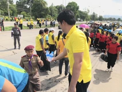 กปภ.ขาพิษณุโลก ร่วมจัดกิจกรรมของ จิตอาสา เราทำความดี ด้วยหัวใจ ในการจัดเก็บขยะ (Big Cleaning Day)