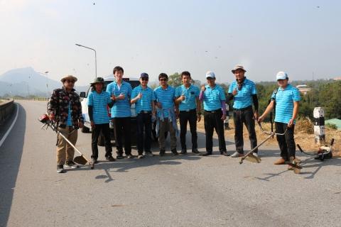 การประปาส่วนภูมิภาคเขต 1 ร่วมกับ กปภ.สาขาชลบุรี (พ) ร่วมกิจกรรม Big Cleaning Day อ่างเก็บน้ำบางพระ
