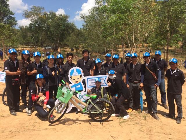 กปภ.สาขากุยบุรี ดำเนินโครงการ CSR ปลูกป่าต้นน้ำเพื่อแผ่นดิน เทิดพระเกียรติในหลวงรัชกาลที่ 9