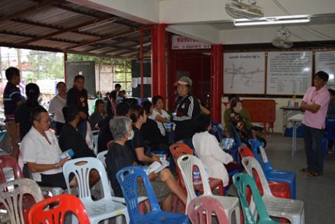 กปภ.สาขาพะเยาได้ดำเนินการจัดกิจกรรมขับเคลื่อน CSR โครงการตามโครงการเติมใจให้กัน ครั้งที่ 1/2560 ณ ศาลาเอนกประสงค์บ้านต๋อม หมู่ที่ 4 ตำบลบ้านต๋อม อำเภอเมือง จังหวัดพะเยา